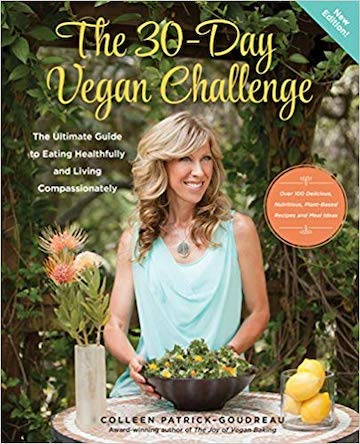 30-day vegan challenge by Colleen Patrick-Goudreau