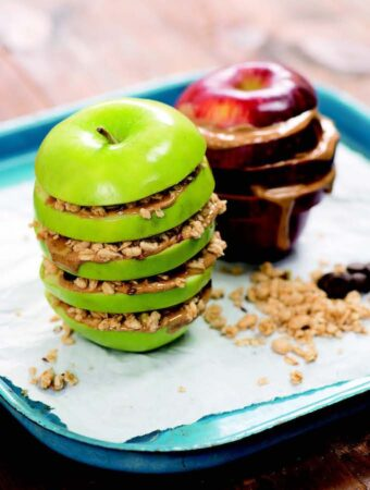 Apple snack from the Book of Veganish