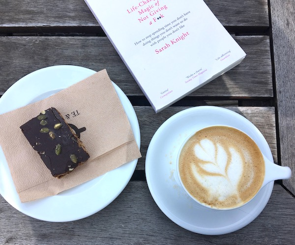 Coffee, Brownie, and not giving a f**k