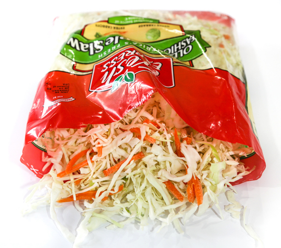 Bagged coleslaw