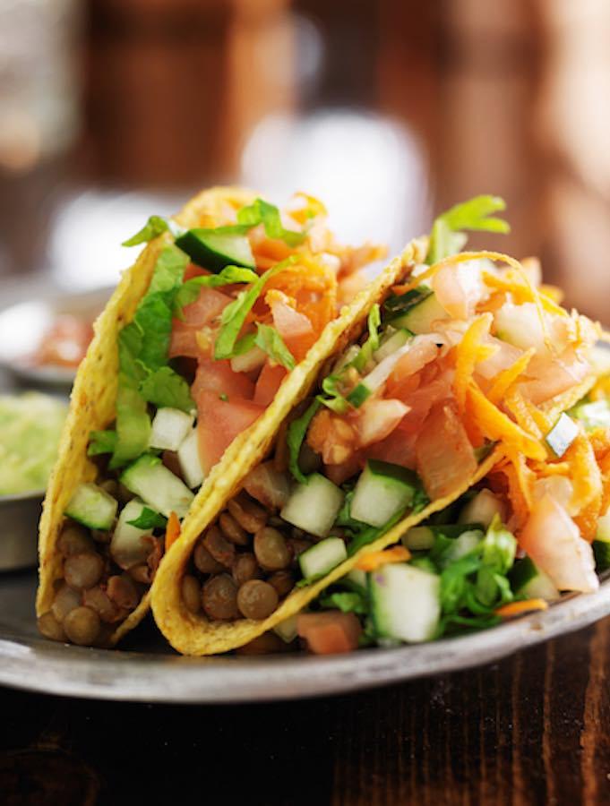 Easy Vegan Lentil-tacos