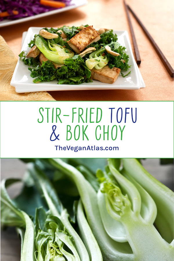 Stir-Fried Tofu & Baby Bok Choy