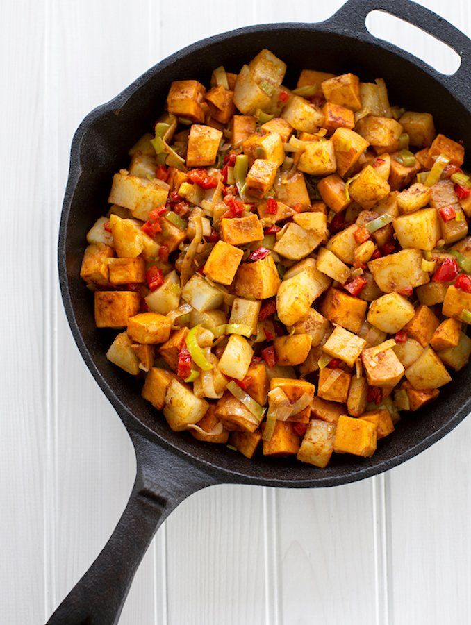 Easy hash brown potatoes