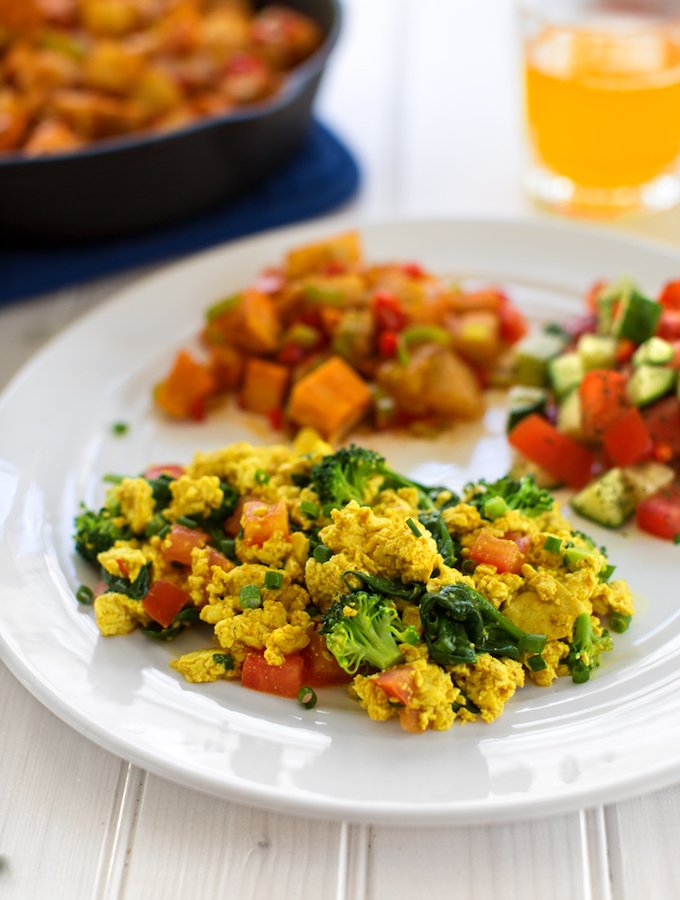 Vegetable Tofu Scramble With Lots of Variations