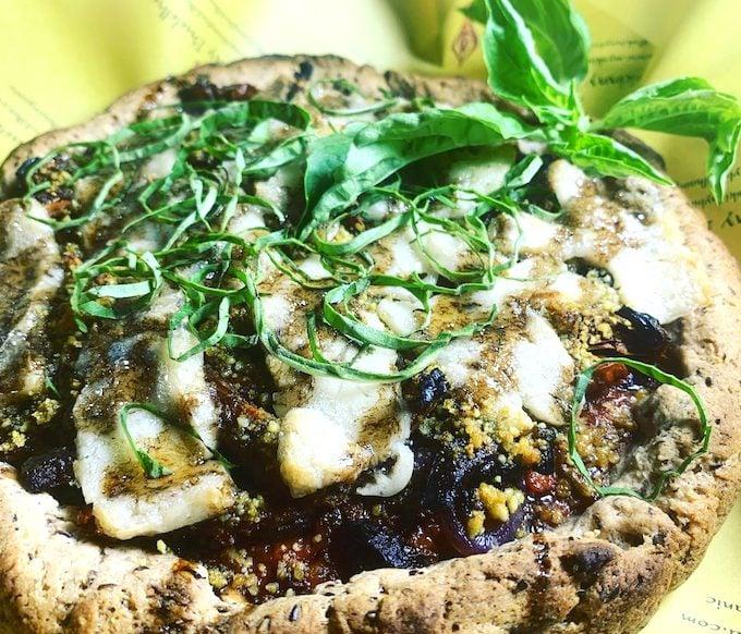 gluten-free & vegan pizza-my skinny buddha