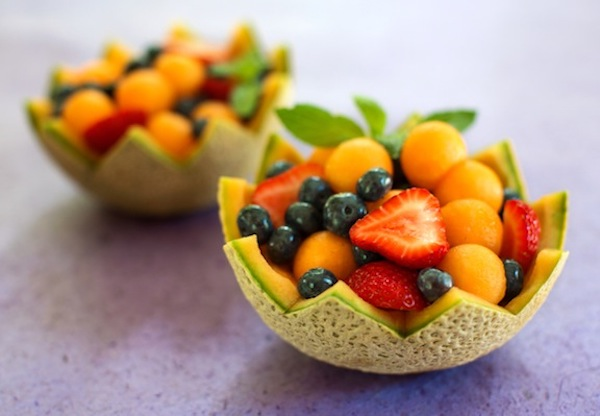 Melon cups