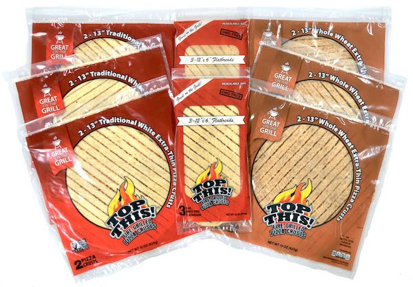 Top This! Grilled Pizza crusts