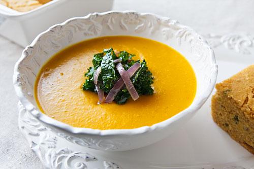 vegan coconut butternut squash soup