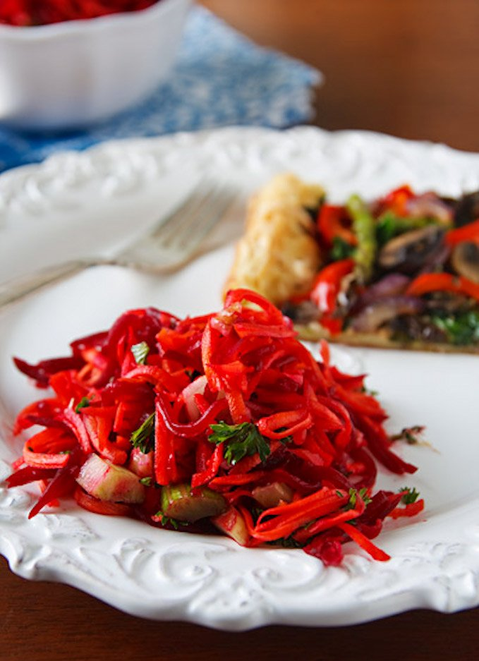 Festive Beet and Carrot Salad