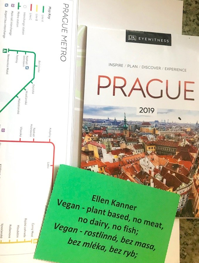 Ellen Kanner — a vegan in Prague
