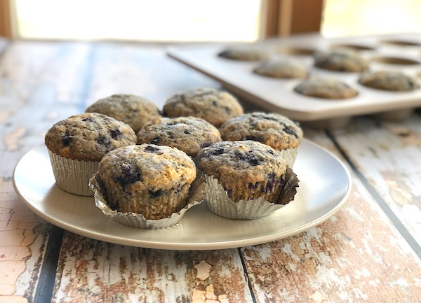 Lemon Poppy Blueberry Muffins2