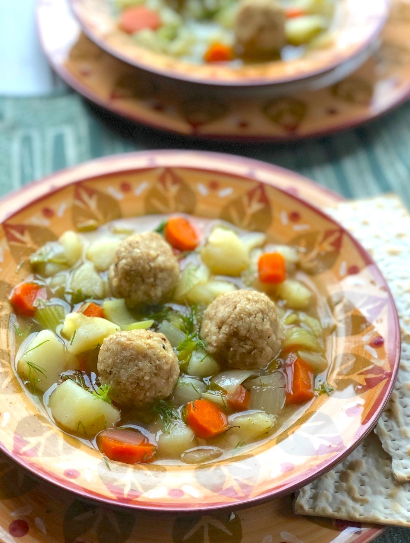 Vegan Matzo balls recipe