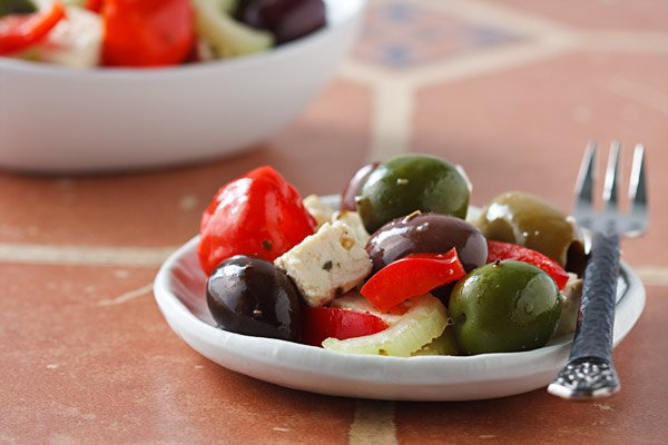 Olive bar medley recipe