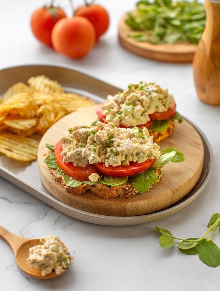 Tofuna — vegan tuna style tofu salad or sandwich spread