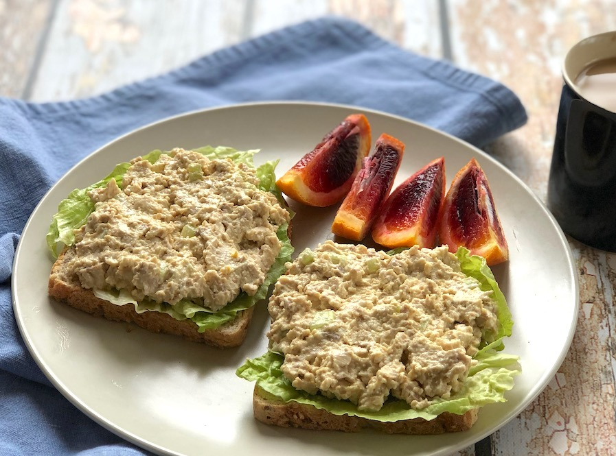 Tofuna - tuna-style tofu salad or sandwich spread