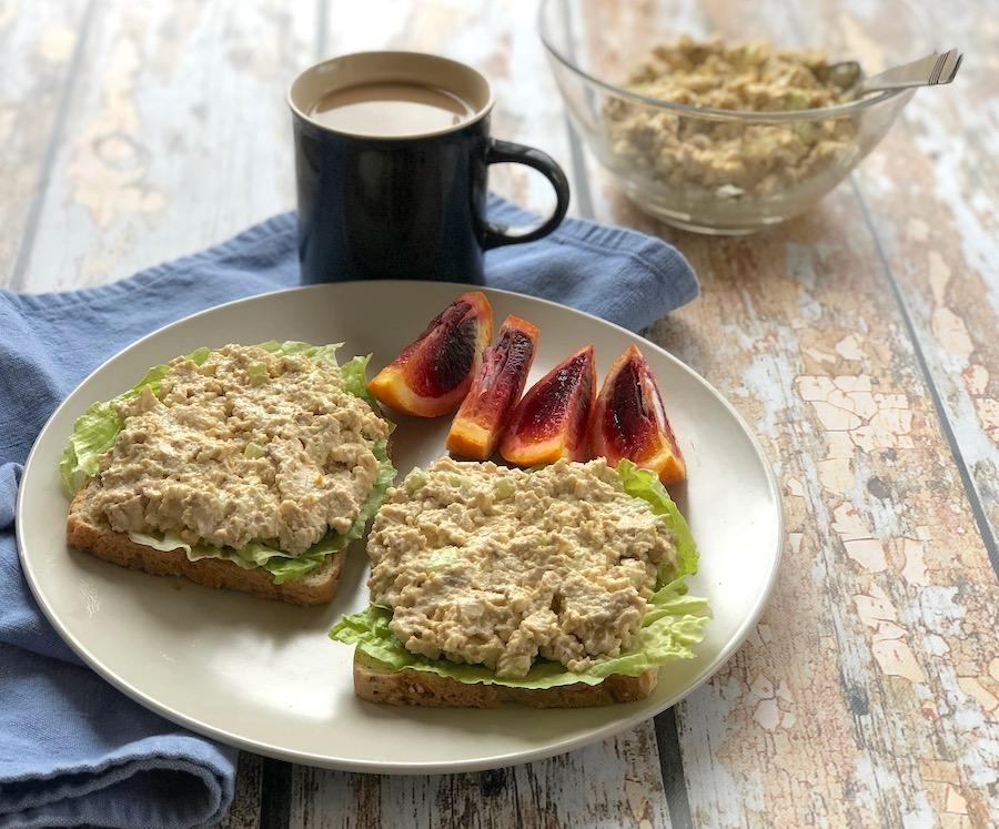 "tofu ""tuna""-style sandwich spread"