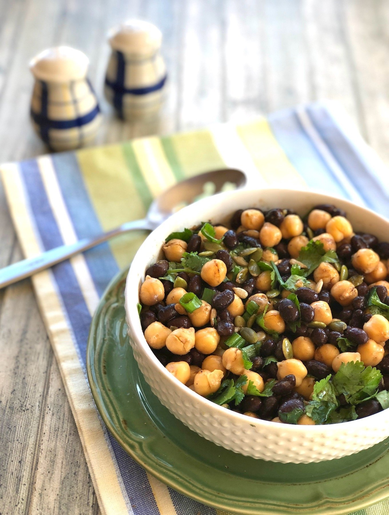 Quick Two-bean salad