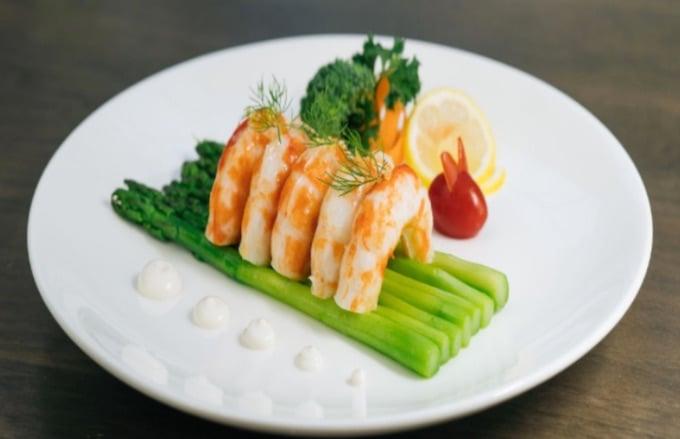 BeLeaf plant-based shrimp
