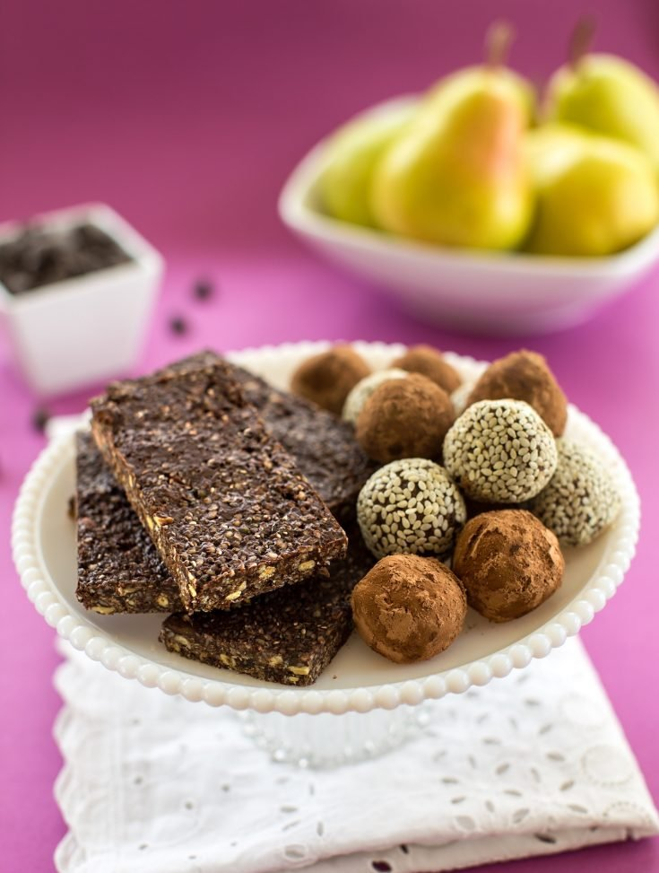Triple Seed Chocolate Energy Bars