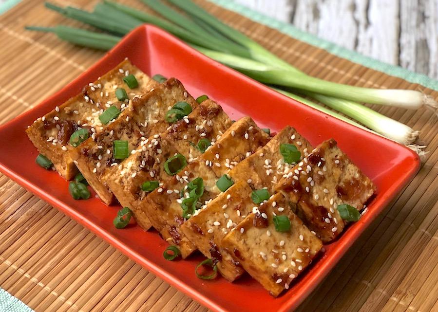 Sweet and Savory Orange-Glazed Tofu