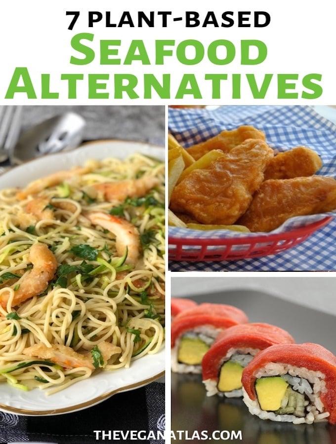 Plant-based seafood alternatives