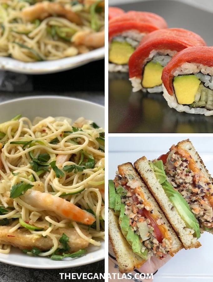 VeganPlant-based seafood