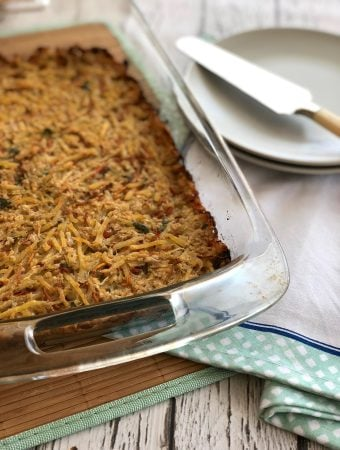 Vegan Potato kugel