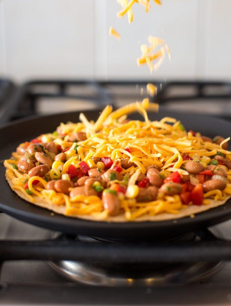 Flexible and Easy Vegan Quesadillas, Any Way You Like Them