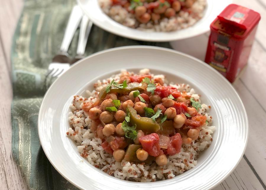 Spanish-Style Chickpea Stew