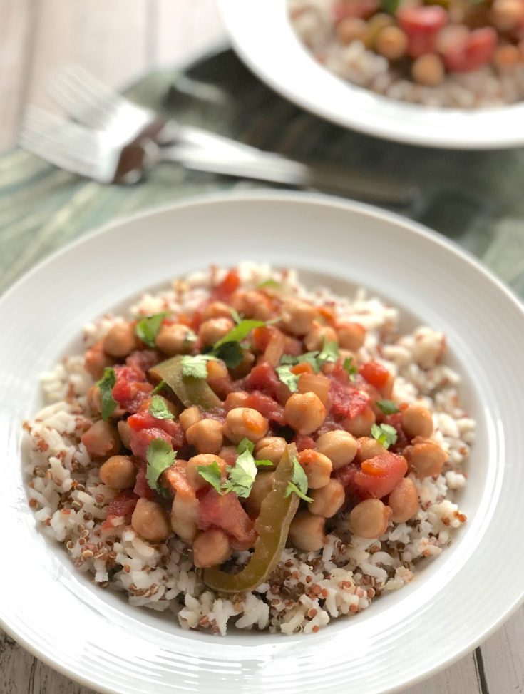 Spanish-Style Chickpea Stew