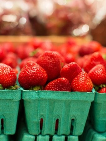 Strawberries at Farm Market
