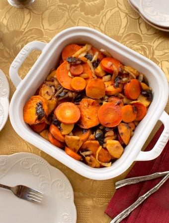 Carrot & sweet potato Tzimmes