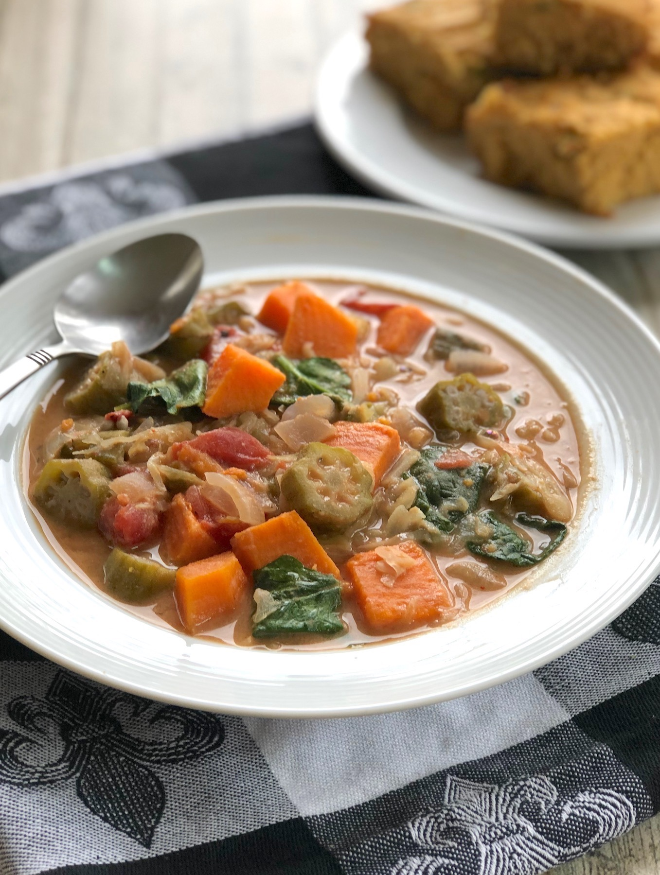 West African Inspired Peanut Stew1