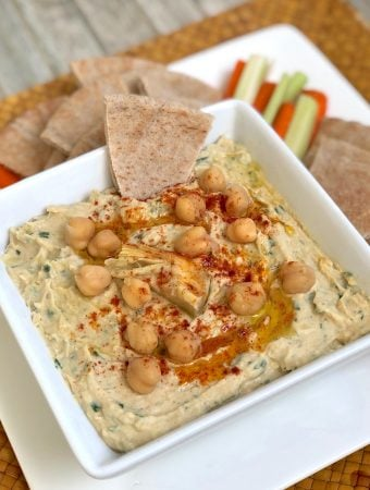 Fresh Herb and Artichoke Hummus1