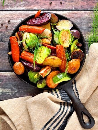 Balsamic and Maple Roasted Vegetables