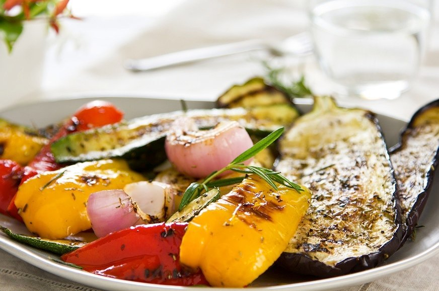Grilled Vegetables for summer