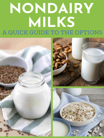 Nondairy plant-based milks