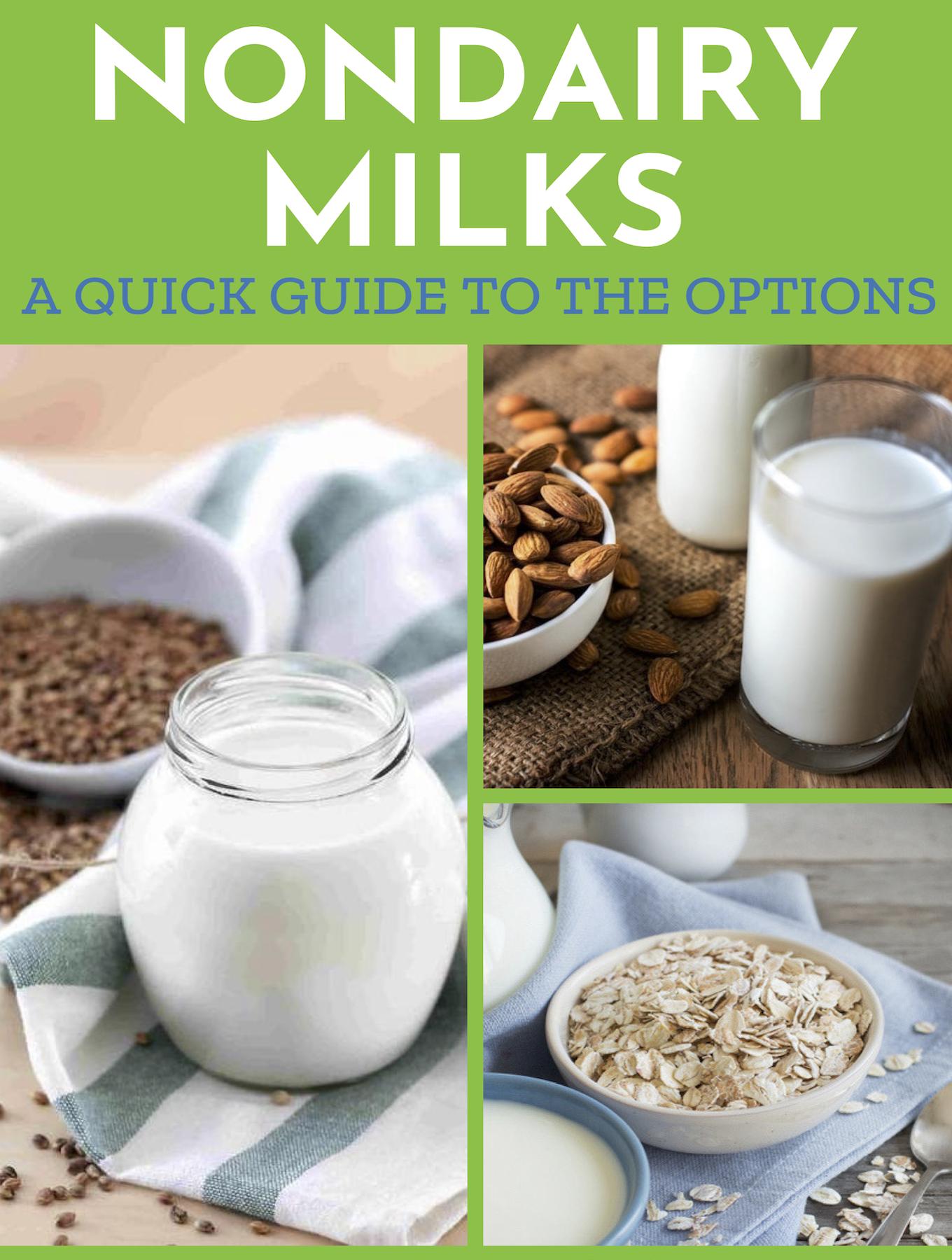 Nondairy plant-based milks