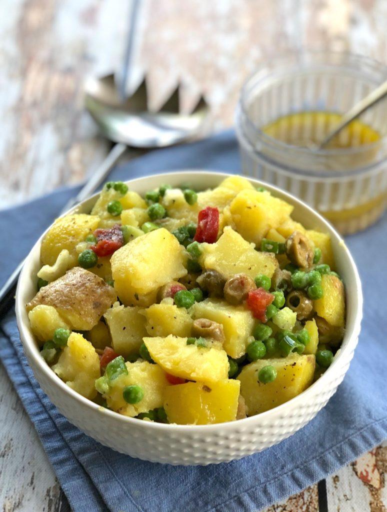 easy vegan potato salad