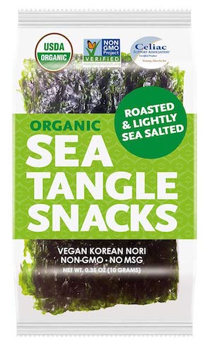Sea tangle nori snacks
