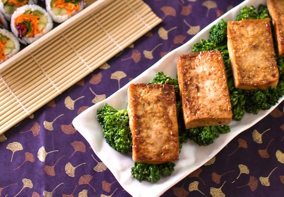 Easy Tofu teriyaki recipe