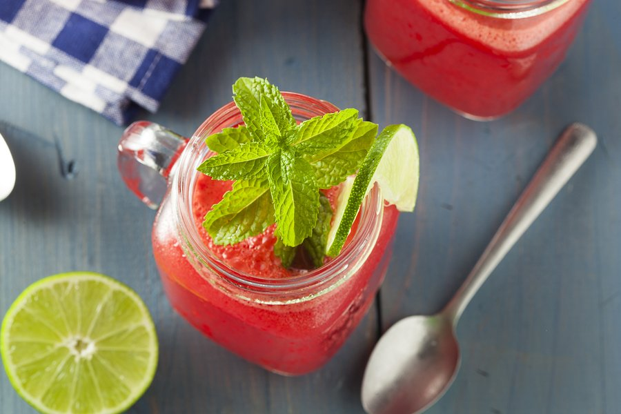 Refreshing Watermelon beverage