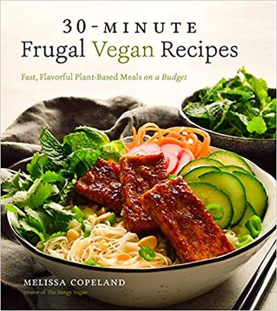 30-Minute Frugal Vegan Recipes by Melissa Copeland