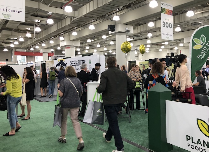 Plant-Based World Expo 2019floor