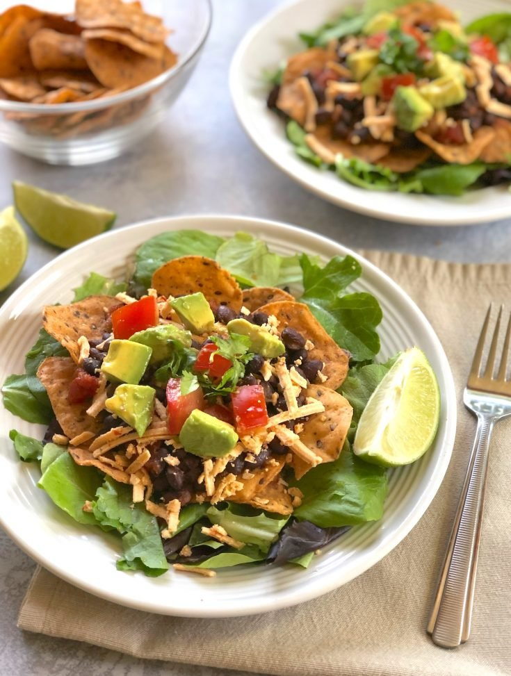 Hot and Cool Taco Salad