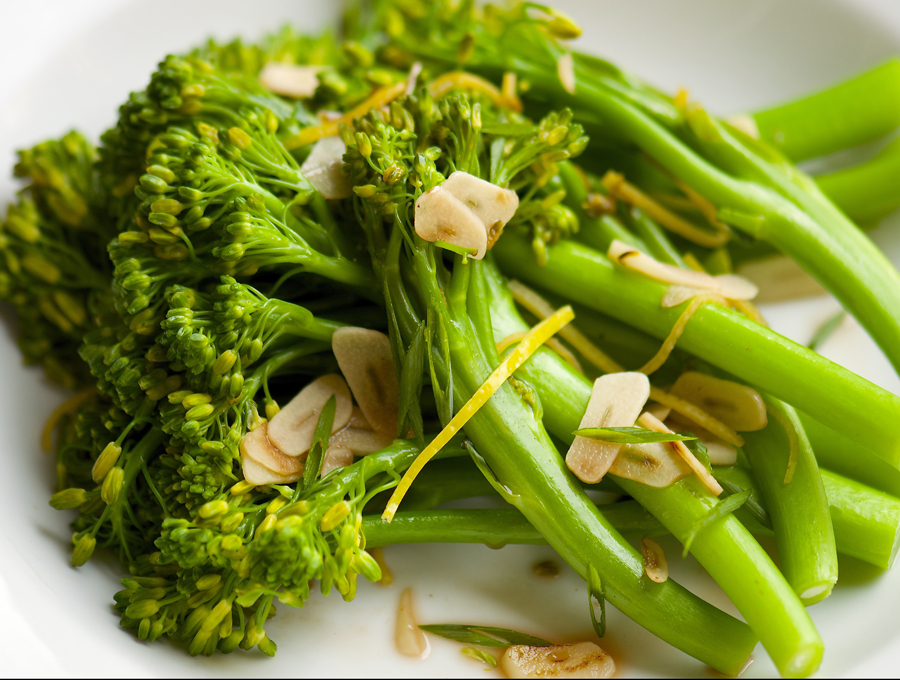 Lemony Garlic Broccolini
