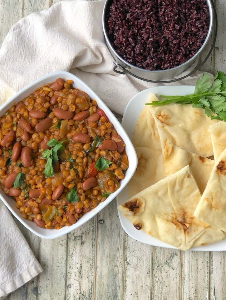 Lentil-and-Kidney-Bean curry