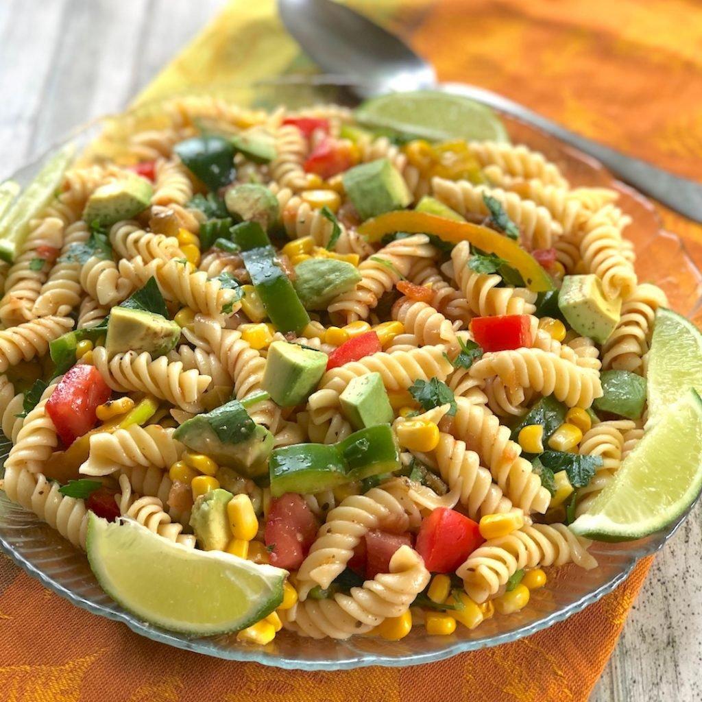 Southwestern Salsa Pasta Salad