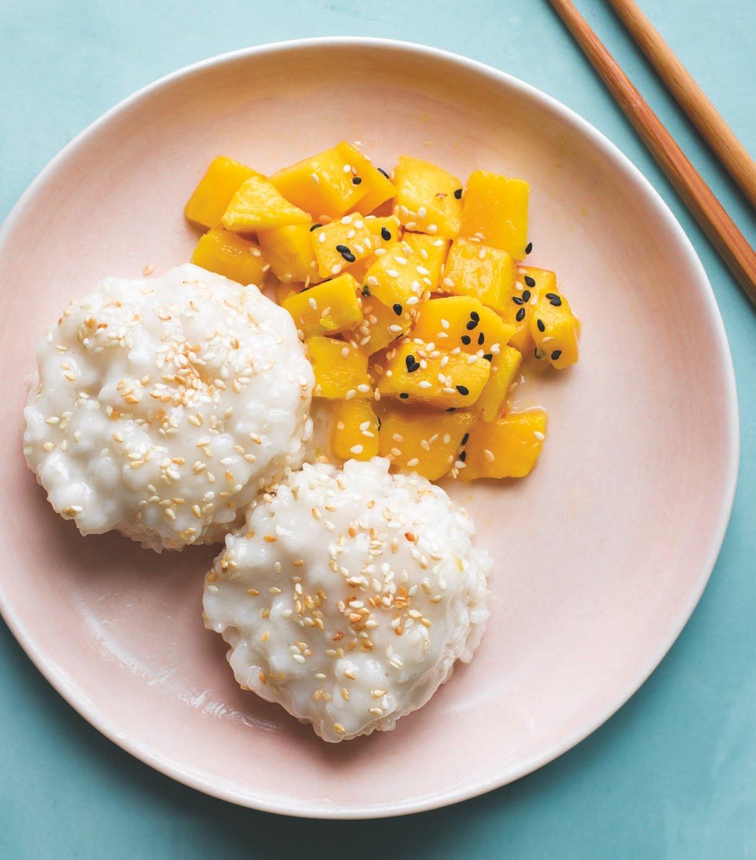 Instant Pot® Thai Mango Sticky Rice   The Vegan Atlas