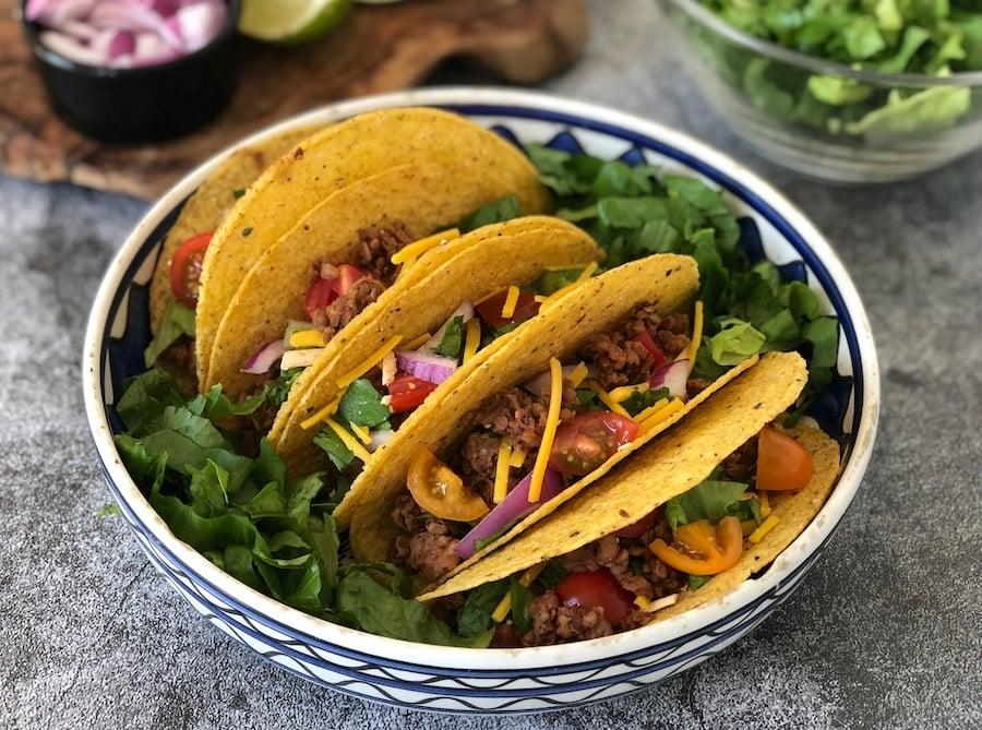Beefless Vegan Taco Crumbles
